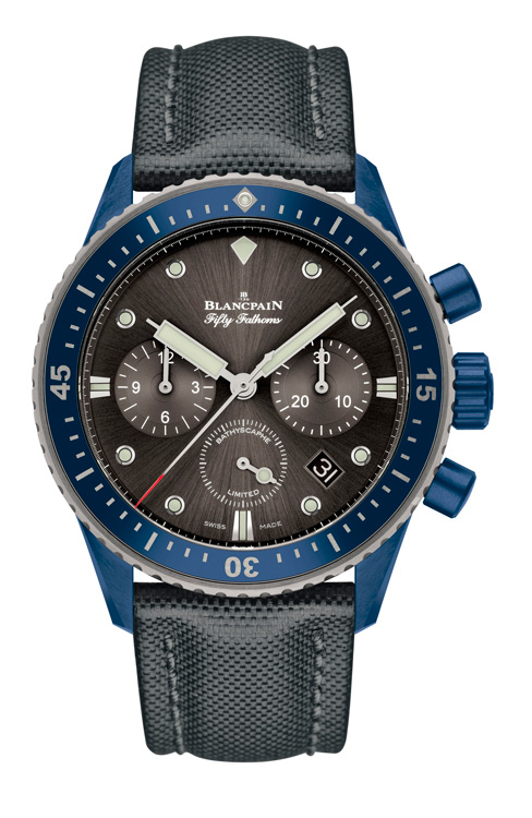 Fifty Fathoms Chronograph Flyback edición Blancpain Ocean Commitment II