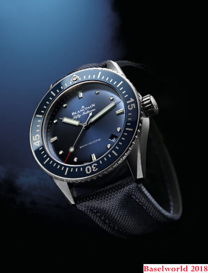 Reloj Blancpain Fifty Fathoms Bathyscaphe referencia 5100-1140-052A
