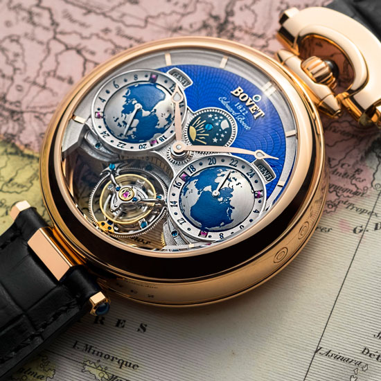 Tourbillon Edouard Bovet Triple Patente
